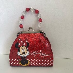 Minnie Mouse Red&white Toddler Purse